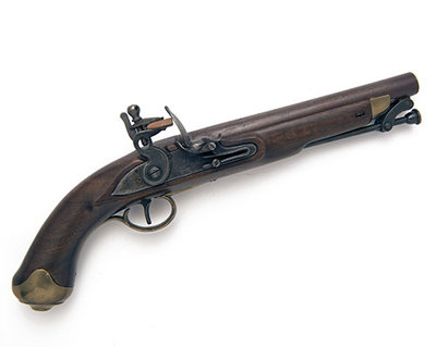 New Land .650 calibre pistol. c.1800.JPG